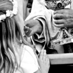 first-communion-bw